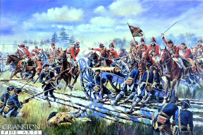 The Charge of the 15th Light Dragoons at Emsdorf by David Rowlands (GL)