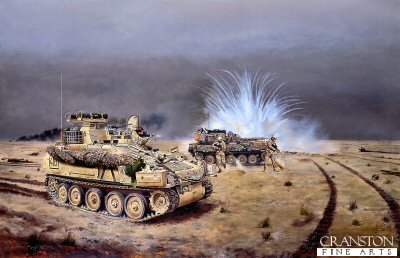 Reconnaissance Group Action, 3rd Fusiliers Battle Group by David Rowlands. (GL)
