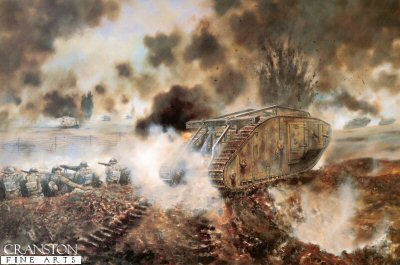 The First Tank versus Tank Action by David Rowlands. (GL)