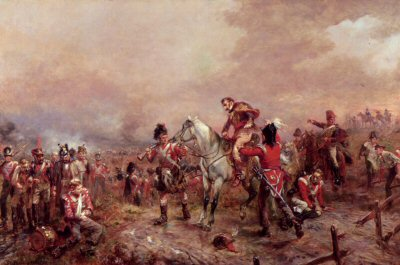 Incident at Waterloo by Robert Hillingford (GL)