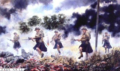 The Queens Own Cameron Highlanders by David Rowlands (GS)