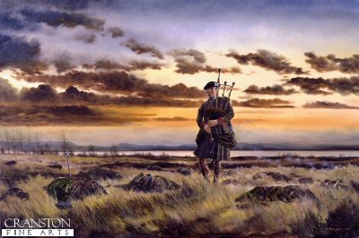 The Lone Piper by David Rowlands.