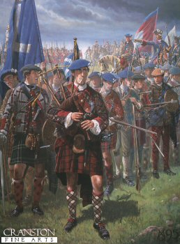 The Jacobite Piper by Mark Churms. (P)
