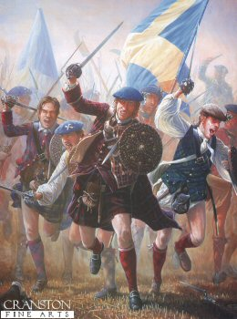 The Charge of the Highlanders at the Battle of Preston Pans, by Mark Churms. (Y)