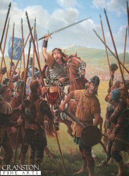 William Wallace Before the Battle of Stirling Bridge by Mark Churms. (P)
