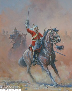 2nd Dragoon Guards Officer by Mark Churms. (Y)