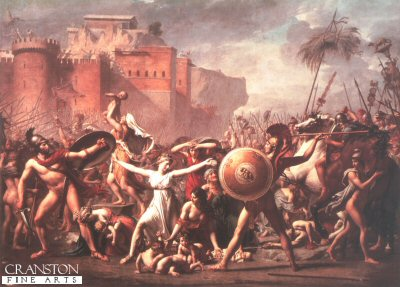 The Sabine Women by Jacques Louis David.