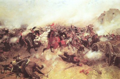 The Charge by Alphonse de Neuville.