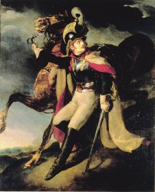 The Wounded Cuirassier by Theodore Gericault.