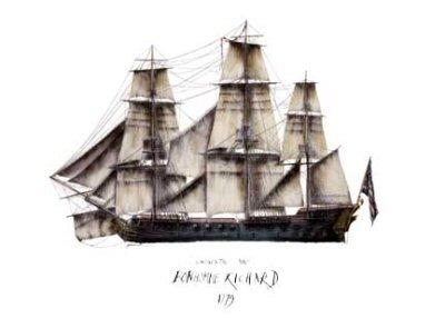 Continental Navy Bonhomme Richard 1779 by Tony Fernandes.