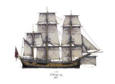 HMS Endeavour by Tony Fernandes. (B)