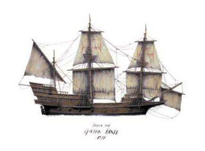 Golden Hinde 1578 by Tony Fernandes.