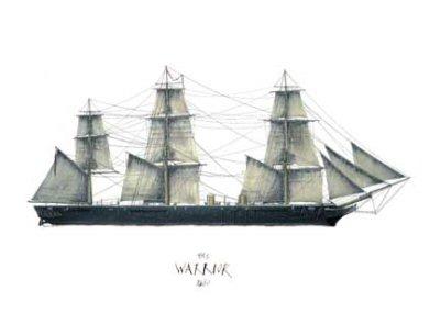 HMS Warrior 1860 by Tony Fernandes.