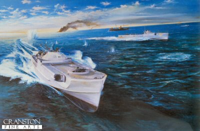 Schnell Boats Operating in the Baltic by Randall Wilson.