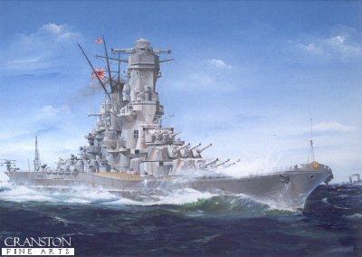 IJMS Yamato by Randall Wilson.