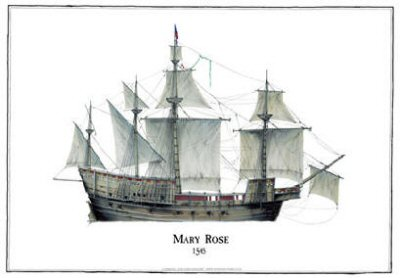 Mary Rose 1545 by Tony Fernandes.