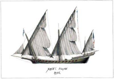 Xebec 1752 by Tony Fernandes.
