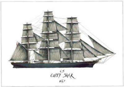 Cutty Sark 1869 by Tony Fernandes.