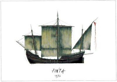 Pinta 1497 by Tony Fernandes. (GS)