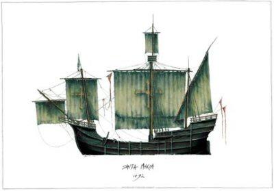 Santa Maria 1497 by Tony Fernandes.