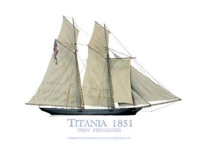 Titania 1851 by Tony Fernandes.