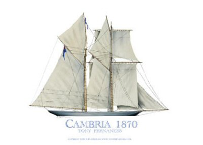 Cambria 1870 by Tony Fernandes.