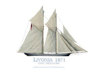 Livonia 1871 by Tony Fernandes.