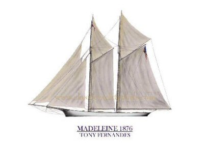 Madeleine 1876 by Tony Fernandes.