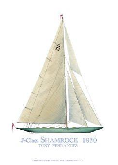J-Class Shamrock 1930 by Tony Fernandes.