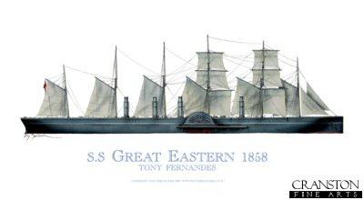 SS Great Eastern 1858 by Tony Fernandes.