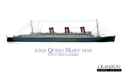 RMS Queen Mary 1936 by Tony Fernandes.