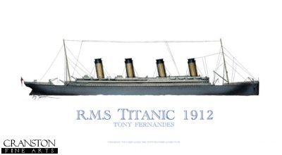 RMS Titanic 1912 by Tony Fernandes. (GS)