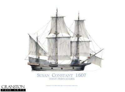 Susan Constant 1607 by Tony Fernandes. (B)