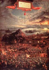 Battle of Issus by Albrecht Altdorfer.