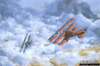 Manfred Von Richthoffen (The Red Baron) by Tim Fisher.