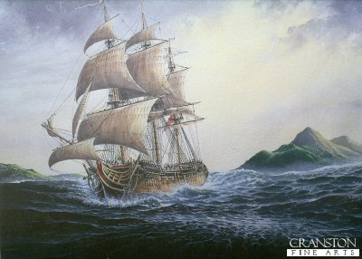 HMS Resolution 1780 by Brian Wood.