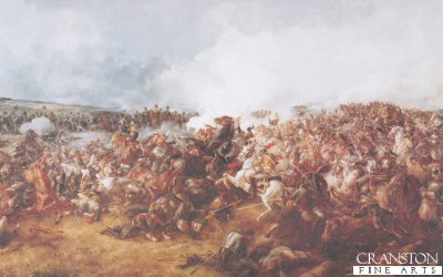G Battery, Royal Horse Artillery, Waterloo 18th June 1815 by Major T.S. Seccombe (B)