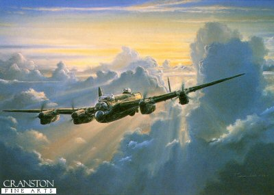 Lancaster Dawn by Anthony Saunders. (F)