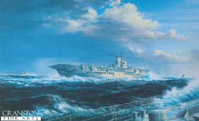 HMS Ark Royal by Brian Wood.