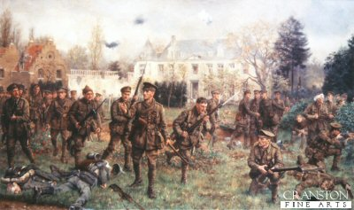 Battle of Gheluvelt, 31st October 1914 by J P Beadle.
