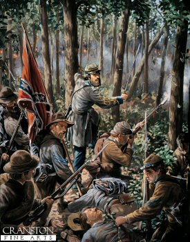 Confederate Officer, 15th Alabama Infantry Regiment 1863 by Mark Churms (P)
