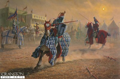 The Joust of Peace (The Black Knight) by Mark Churms. (XX)