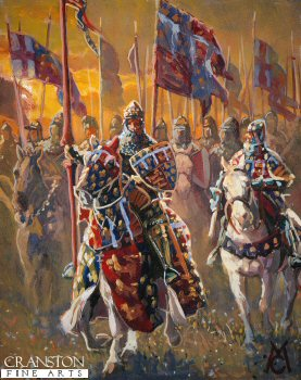 The Black Prince Before the Battle of Crecy by Mark Churms.