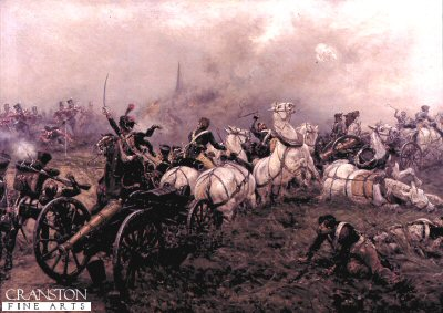 The Capture of A French Battery by Ernest Crofts.