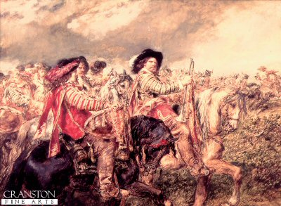 After the Battle of Naseby by Sir John Gilbert. (Y)