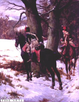 Scouts by William Barnes Wollen (B)