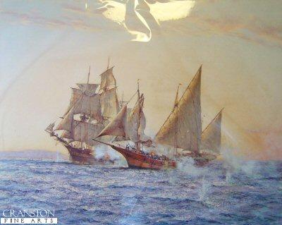 The Corsair by Montague Dawson.