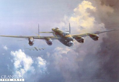 Lancaster by Frank Wootton.