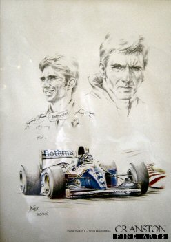 Damon Hill - Williams FW16 by S Taylor.