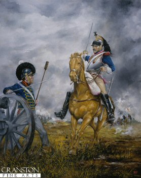 French Cuirassier at Waterloo by Brian Palmer. (AP)